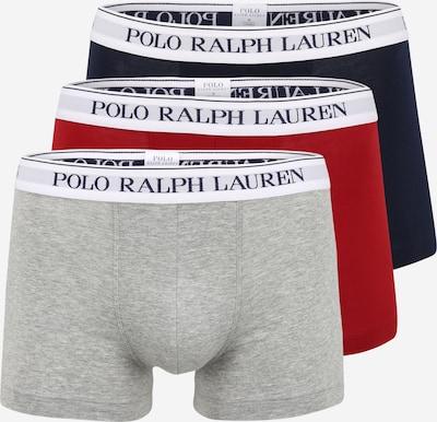 POLO RALPH LAUREN Boxershorts in navy / graumeliert / rot / weiß, Produktansicht
