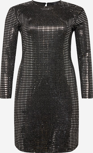 Vero Moda Curve Kleid in schwarz / silber, Produktansicht