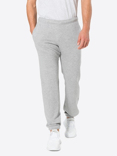 Pantaloni Champion Authentic Athletic Apparel pe gri amestecat, Vizualizare model