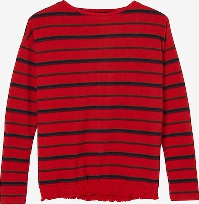 s.Oliver Shirt in dunkelblau / braun / rot / bordeaux, Produktansicht