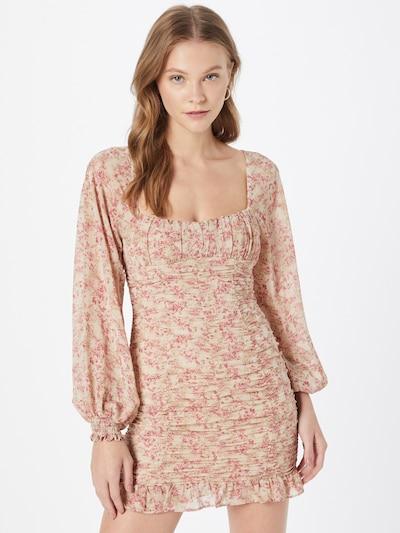 Rochie Love Triangle pe roz pudră / roz deschis, Vizualizare model