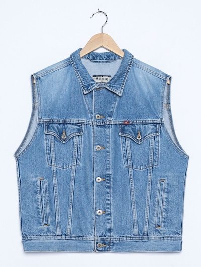 MUSTANG Jeansweste in XL in hellblau, Produktansicht