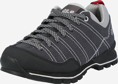 JACK WOLFSKIN Chaussure basse 'SCRAMBLER' en gris / gris foncé, Vue avec produit