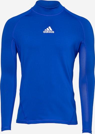 ADIDAS PERFORMANCE Sportshirt in navy / weiß: Frontalansicht