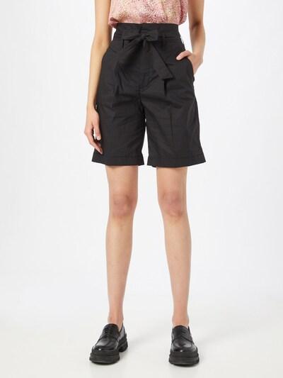 CINQUE Kalhoty se sklady v pase - černá, Model/ka