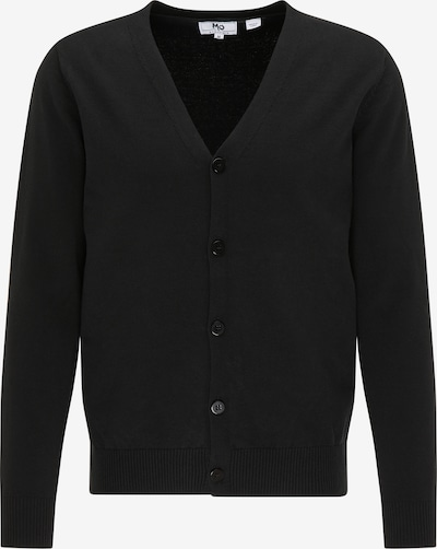 Mo ESSENTIALS Knit cardigan in black, Item view