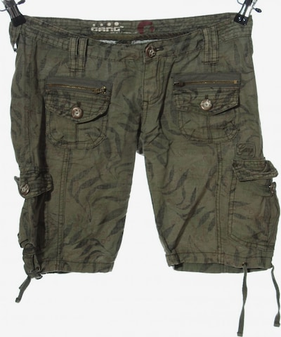 Gang Hot Pants in XS in khaki / schwarz, Produktansicht