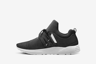 ARKK Copenhagen Låg sneaker i svart / vit, Produktvy