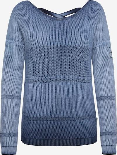 Soccx Pullover mit Schnürung am Rücken in blau, Produktansicht