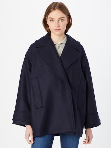 IVY & OAK Prechodný kabát 'PEA' - Modrá