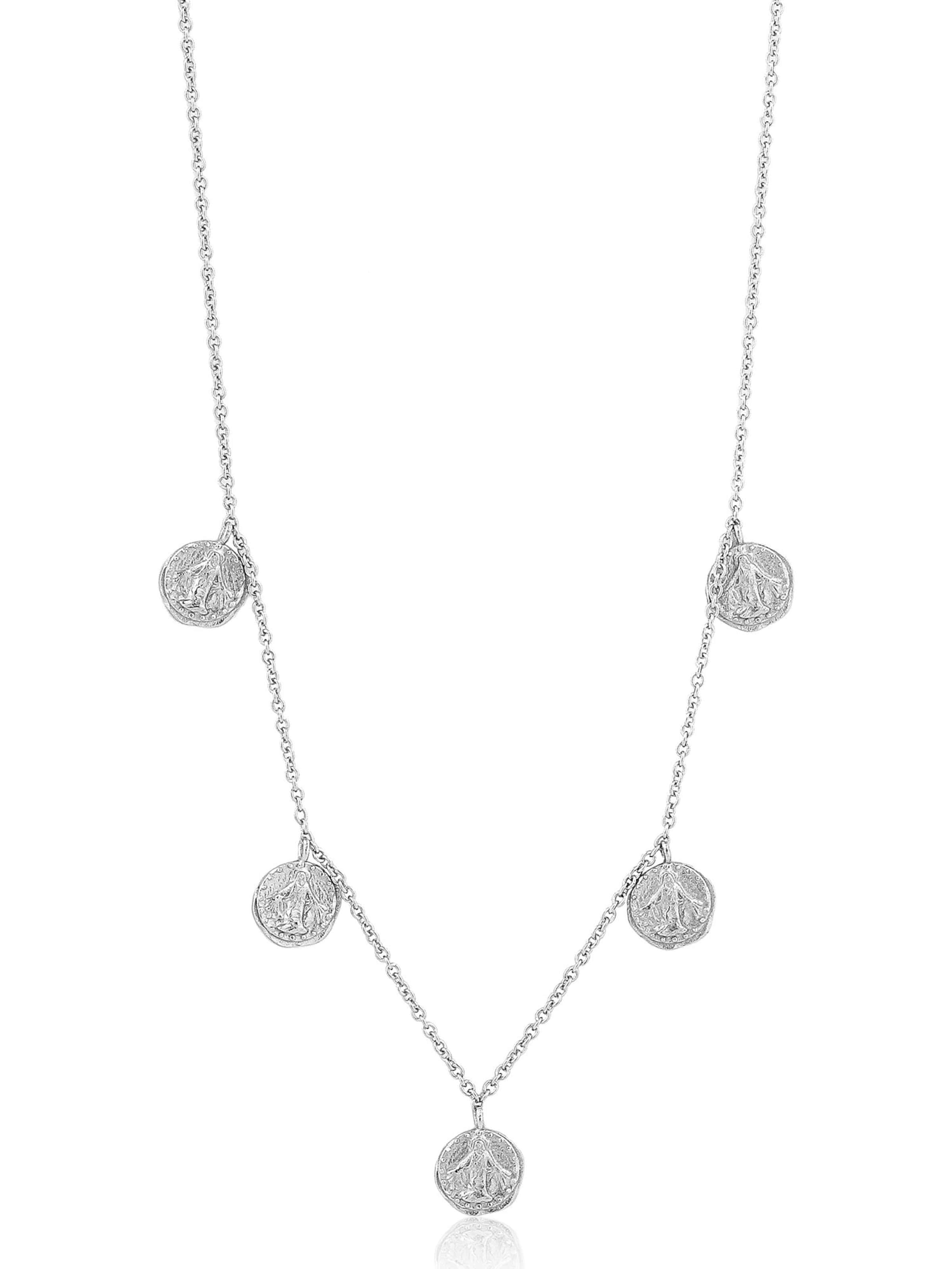 Ania Haie Kette 'Deus Necklace ' in silber