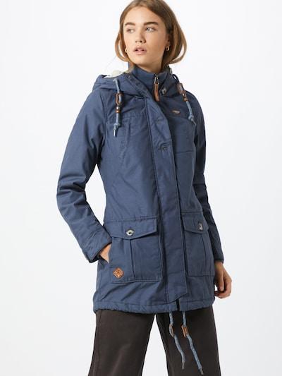 Ragwear Manteau d'hiver 'Jane' en bleu, Vue avec modèle