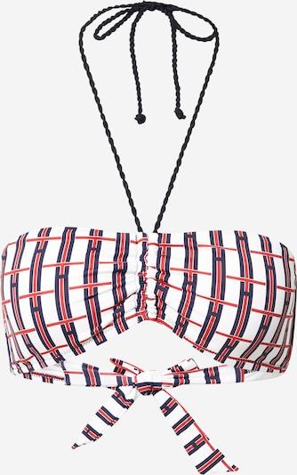 Tommy Hilfiger Underwear Горнище на бански в нейви синьо / червено / бяло: Изглед отпред