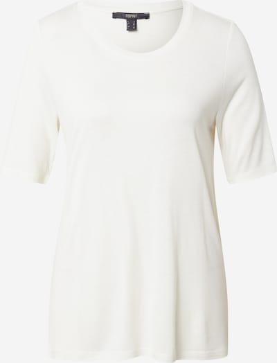 Tricou Esprit Collection pe alb murdar, Vizualizare produs