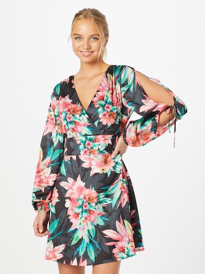 GUESS Kleid 'GISELLA' in blau / grün / pink / rot, Modelansicht
