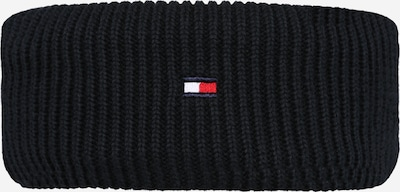 TOMMY HILFIGER Beanie in Night blue / Fire red / White, Item view