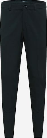 Matinique Trousers with creases 'Liam' in Black