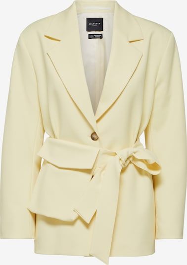 SELECTED FEMME Blazer 'Malli' in pastellgelb, Produktansicht