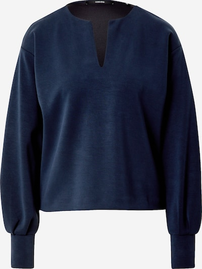 Someday Sweat-shirt 'Ukki' en bleu foncé, Vue avec produit