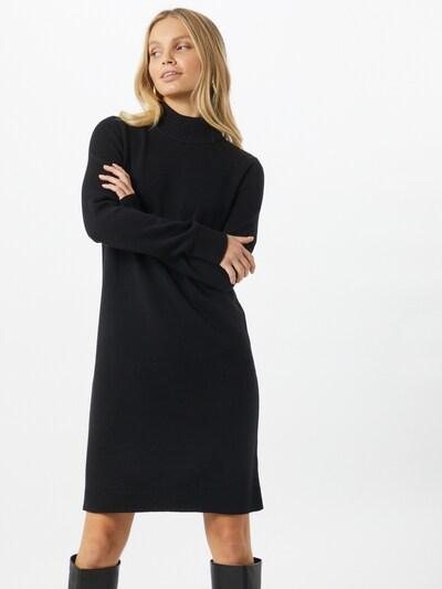 BOSS Blusenkleid in schwarz, Modelansicht