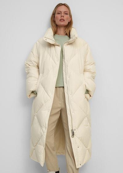 Marc O'Polo Winter Coat in Beige, View model