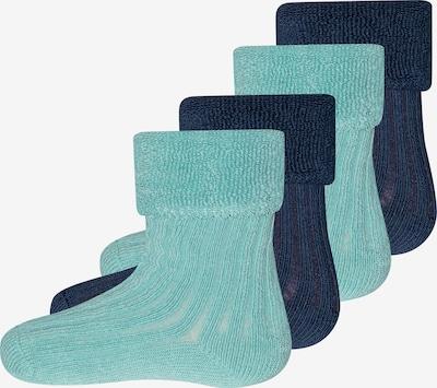 EWERS Socken in pastellblau / dunkelblau, Produktansicht