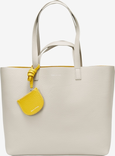Marc O'Polo Shopper 'Kesta' in gelb / weiß, Produktansicht