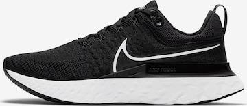 Sneaker de alergat 'React Infinity Run Flyknit 2' de la NIKE pe negru