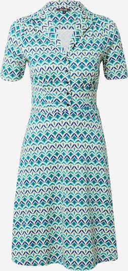 King Louie Kleid in blau / smaragd / mint / jade / weiß, Produktansicht