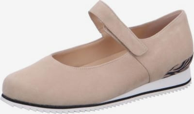 HASSIA Slipper in taupe, Produktansicht