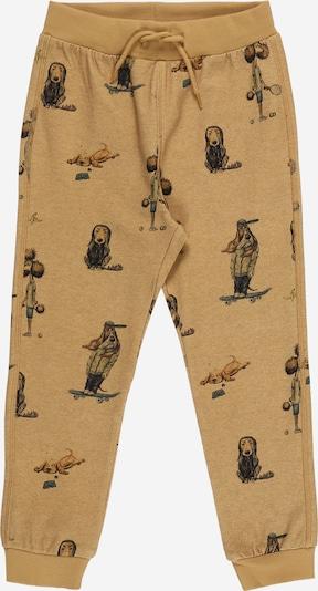 Pantaloni 'Droge' NAME IT pe albastru noapte / maro coniac / maro deschis, Vizualizare produs