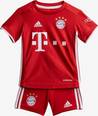 ADIDAS PERFORMANCE Trainingsanzug 'FC Bayern München' in rot / weiß, Produktansicht