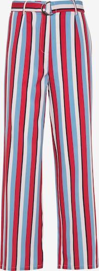 usha BLUE LABEL Pantalon en bleu / rouge / noir / blanc, Vue avec produit