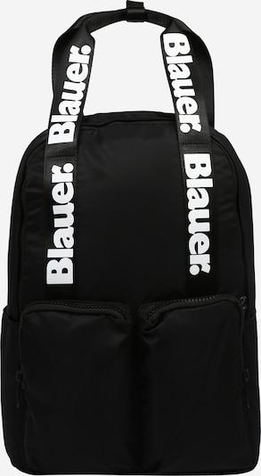 Blauer.USA Ryggsäck i svart / vit, Produktvy