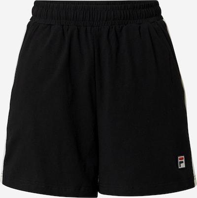 FILA Broek in de kleur Zwart / Wit, Productweergave