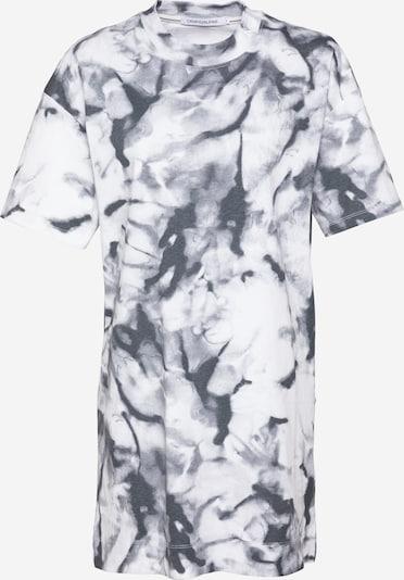 Calvin Klein Jeans Sukienka w kolorze szary / grafitowy / białym, Podgląd produktu