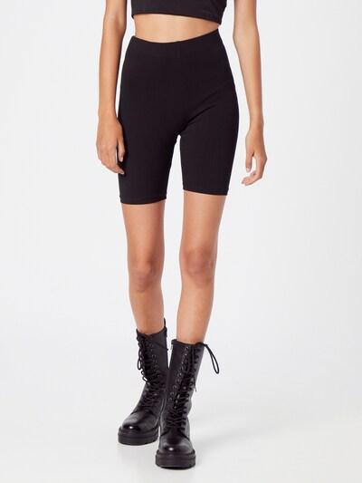 Gina Tricot Leggings in nude / schwarz, Modelansicht