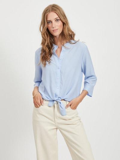VILA Bluza 'THOMA' | dimno modra barva, Prikaz modela