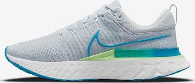 NIKE Running Shoes 'React Infinity Run Flyknit 2' in Cyan blue / Light grey / Light green / White, Item view