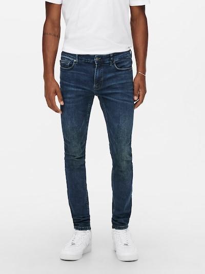 Only & Sons Jeans 'Warp' in de kleur Blauw denim, Modelweergave