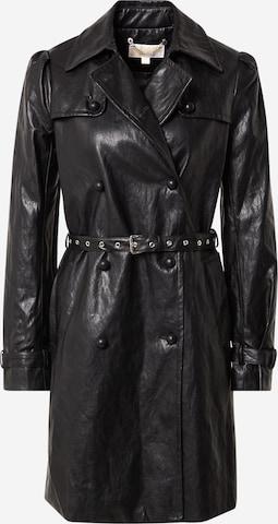 juoda MICHAEL Michael Kors Demisezoninis paltas