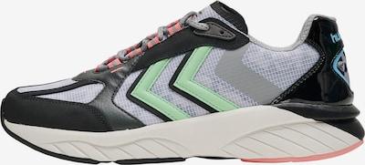 Hummel Sneaker in blau / grau / hellgrün / pink / schwarz, Produktansicht