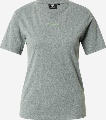 Hummel Shirt in Grau