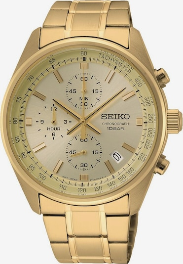SEIKO Analoguhr 'SSB382P1' in gold, Produktansicht