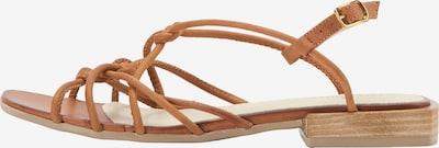DreiMaster Vintage Sandales en marron, Vue avec produit