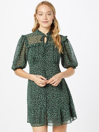 River Island Shirt Dress in Dark green / Black, View model