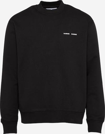 Samsoe Samsoe Majica 'Norsbro' | črna barva: Frontalni pogled