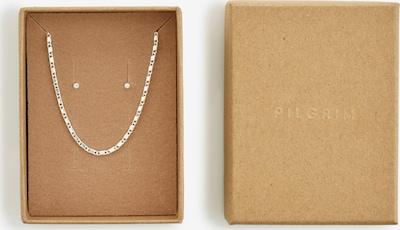 Pilgrim Parure de bijoux 'Felicia' en argent / transparent, Vue avec produit