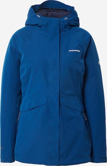 CRAGHOPPERS Veste outdoor 'Caldbeck' en bleu / blanc, Vue avec produit