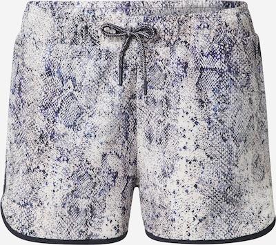 ESPRIT SPORT Športové nohavice - orgovánová / tmavofialová / čierna / biela, Produkt